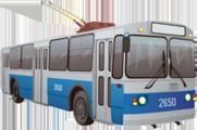 маршрут и расписание движения  троллейбуса
